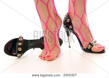 Female Feet And High Heels