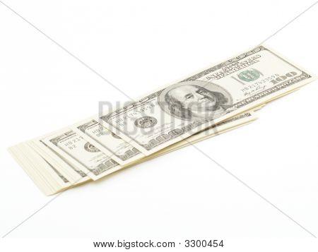 Usd 100 Bills Of Money
