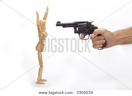 Mannequin Holdup 2 Standing