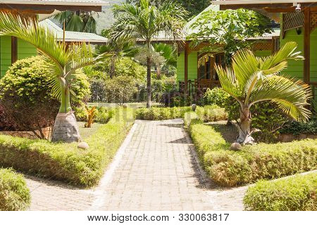 A Bungalow In Hotel At Tropical Beach