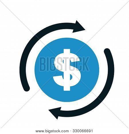 Currency Exchange Money Icon Design For Web