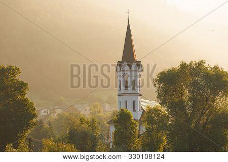 Church In The Village Of Stankovany In Liptov Region, Northern Slovakia..