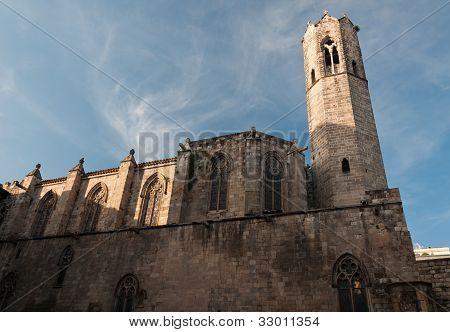 Church In Plaça Del Rei - Barrio Gotico, Barcelona, Spain