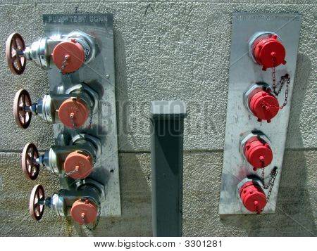 Red Standpipes