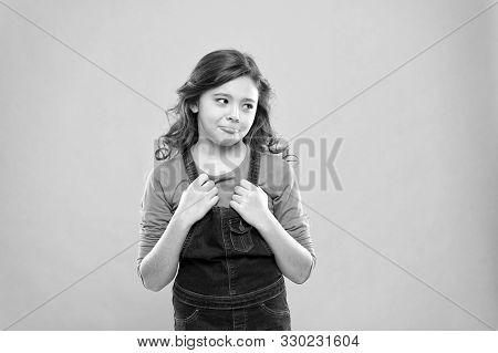 Funny Grimaces. Playful Teen Model. Acting Skills Concept. Acting School For Children. Girl Artistic