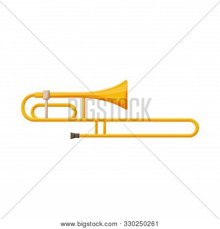 Vector Design Of Cornet And Pipe Sign. Web Element Of Cornet And Tuba Stock Symbol For Web.