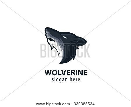 Wolf Head LogoWolf, Logo, Hunt, Werewolf, King, Pet, Carnivore, Hunter, Night, Fang, Howling, Lone,