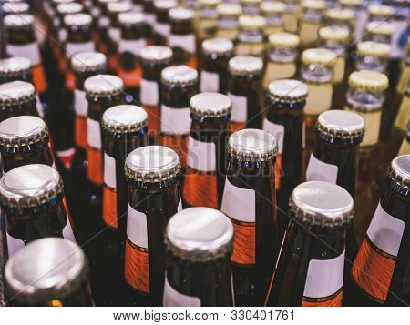 Bottle Cap Beer Brewery Package Drinking Bar Warehouse Storage Logistic Industry