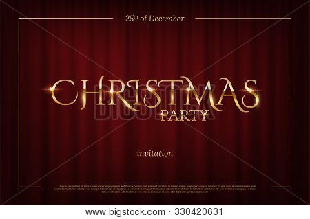 Christmas Party Vector Photo Free Trial Bigstock