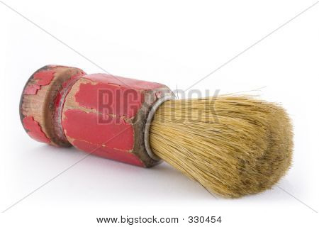 Old Barber Brush