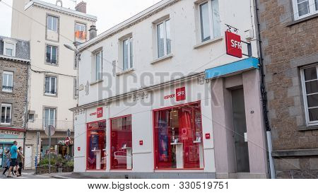 French Phone Operator : Sfr Store Granville, France 2019-08-08