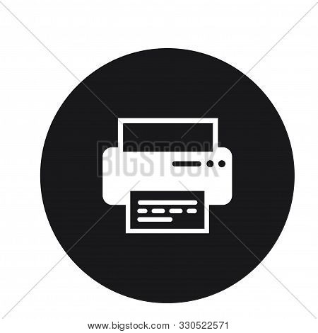 Print Printer Printing Icon Design For Web