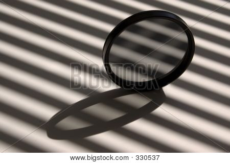 Optical Filter With Stripes And Lines
