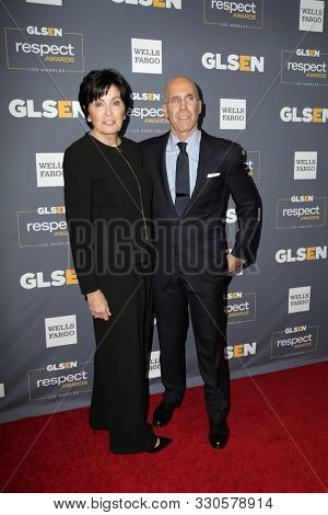 LOS ANGELES - OCT 25:  Jeffrey Katzenberg, Marilyn Katzenberg at the GLSEN Respect Awards at the Beverly Wilshire Hotel on October 25, 2019 in Beverly Hills, CA