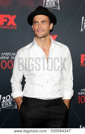 LOS ANGELES - OCT 26:  Cheyenne Jackson at the