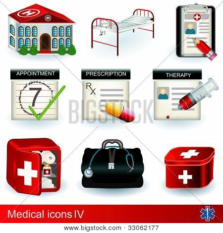Medical Icons 4