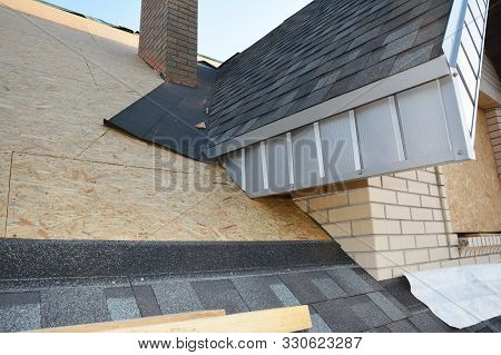 Problem Areas For House Asphalt Shingles Corner Roofing Construction Waterproofing. Repair Roofing C