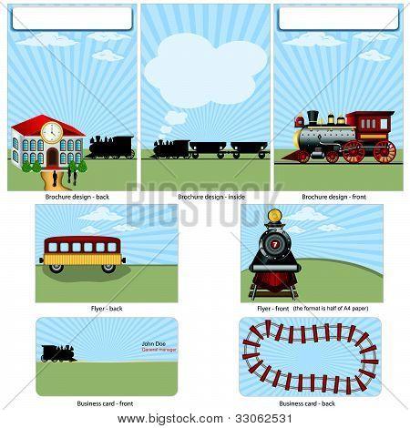 Steam Train Stationary