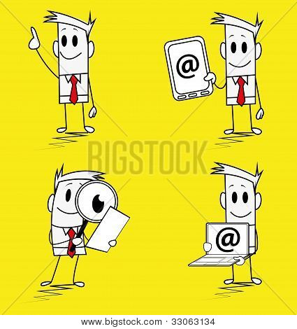 Square guy - email