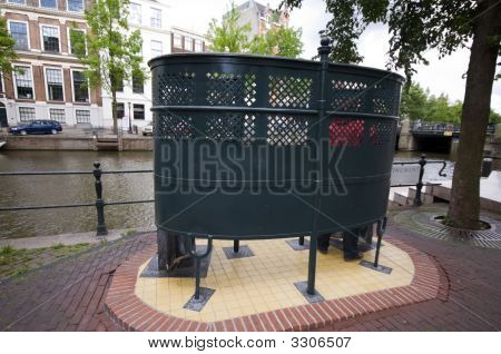 Outdoor Public Urinal Amsterdam