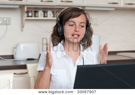 Conference call - work from home