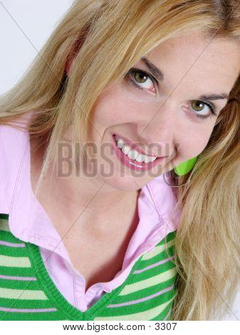 April Smiling