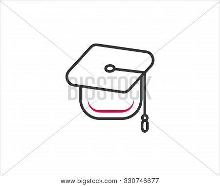 Education Graduation Hat Icon Design For Web