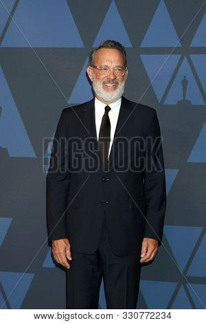 LOS ANGELES - OCT 27:  Tom Hanks at the 11th Annual Governors Awards at the Dolby Theater on October 27, 2019 in Los Angeles, CA