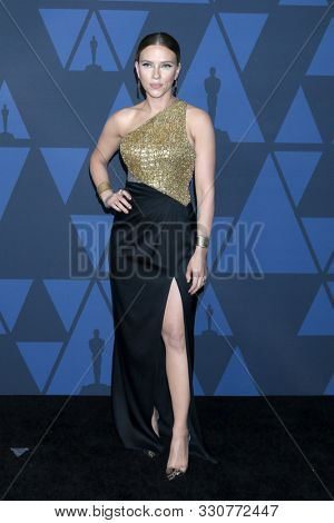 LOS ANGELES - OCT 27:  Scarlett Johansson at the 11th Annual Governors Awards at the Dolby Theater on October 27, 2019 in Los Angeles, CA
