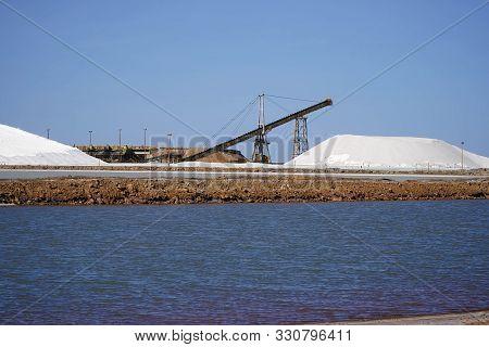 Port Headland Pilbara Region Of Western Australia, Salt Mining