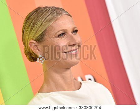 LOS ANGELES - OCT 10:  Gwyneth Paltrow arrives for the 2019 amFAR Gala on October 10, 2019 in Hollywood, CA