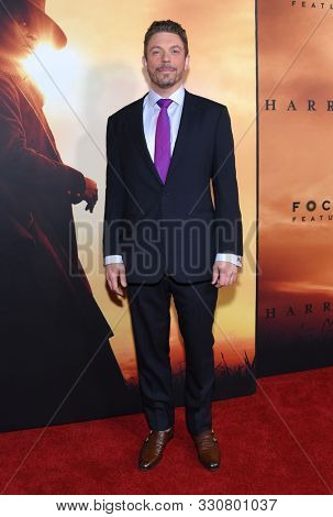 LOS ANGELES - OCT 29:  Nick Basta arrives for the ÔHarrietÕ Los Angeles Premiere on October 29, 2019 in Los Angeles, CA