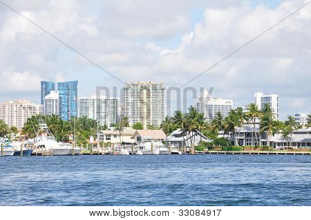 Downtown Ft. Lauderdale skyline