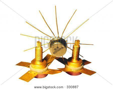 Gold Transistors
