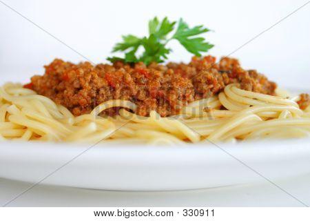 Italian Food - Spaghertti Bolognaise
