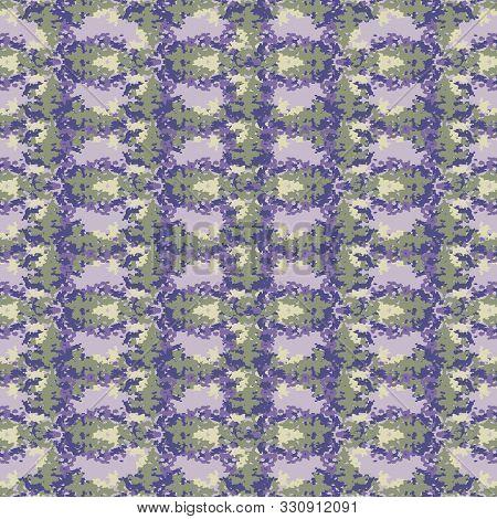 Lavender Broken Vertical Trellis Stripe Background. Seamless Pattern Mottled Wax Print Bleached Resi