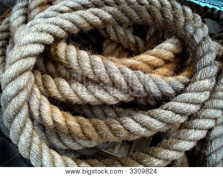 Old Ship'S Rope