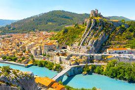 Sisteron Is A Commune In The Alpes-de-haute-provence Department In The Provence-alpes-cote D'azur Re