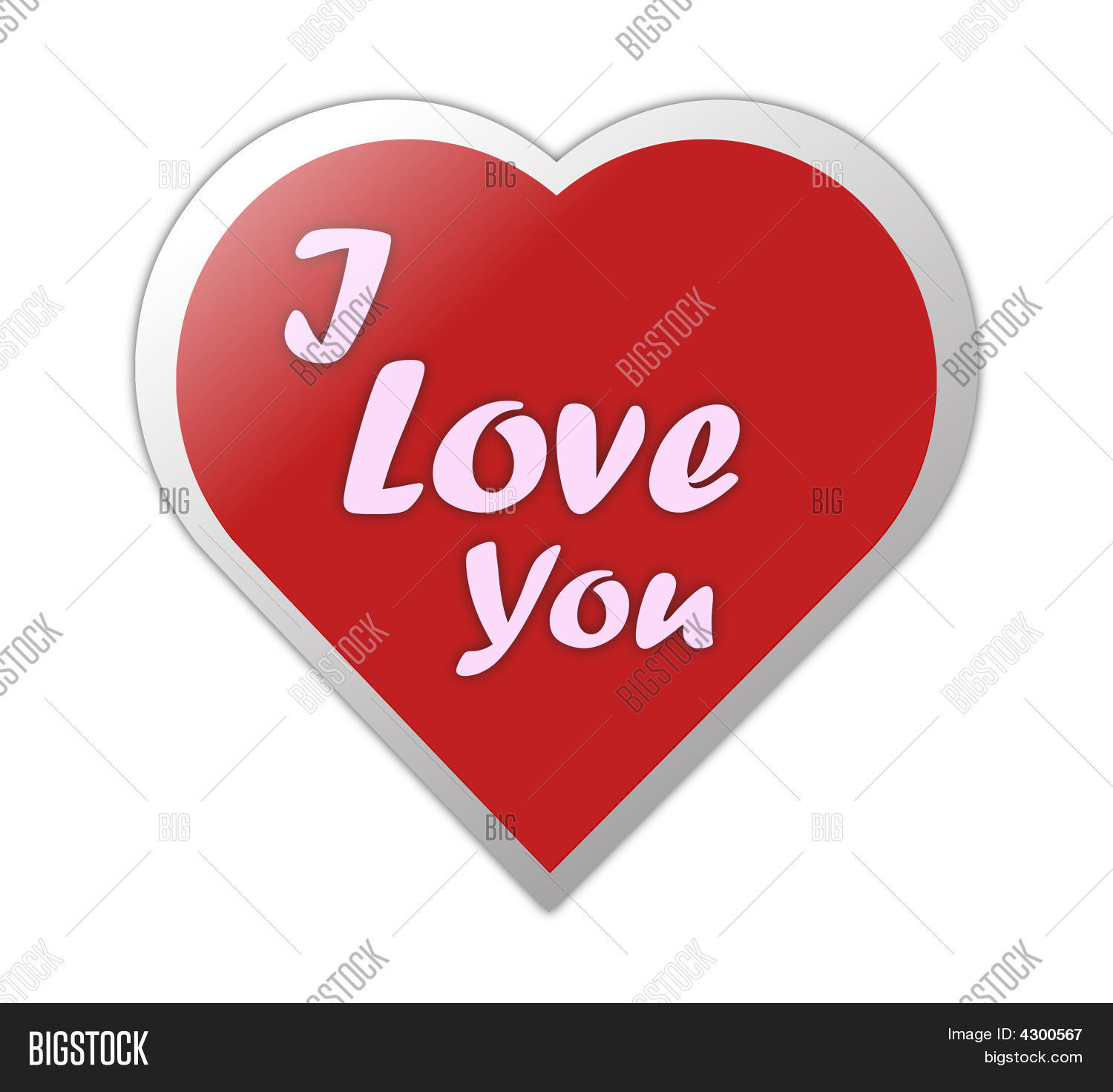 Heart Symbol Love You Image Photo Free Trial Bigstock