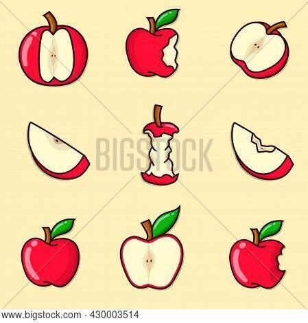 10 Apple Set