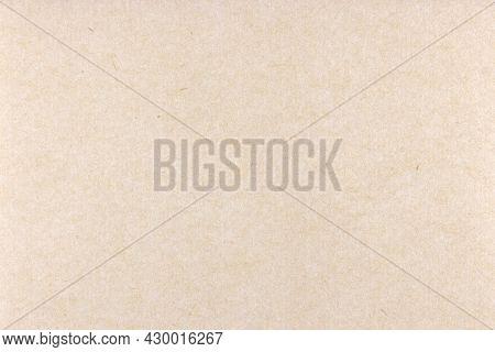 Decorative Kraft Paper Texture. Decorated Vintage Paper Background. Landscape Horizontal Orientation