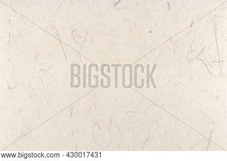Rice Fragrance Decorative Paper Texture. Decorated Plant Fibre Paper Background. Landscape Horizonta