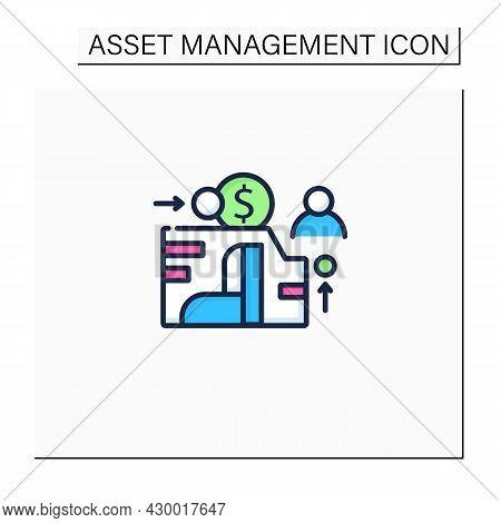 Eam Color Icon. Enterprise Asset Management.plan, Optimize, Execute, Track Needed Maintenance Activi