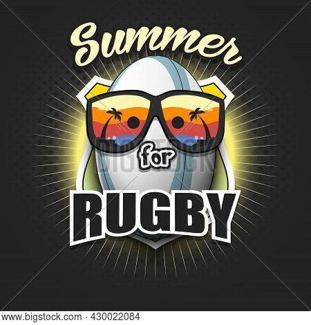 Summer Rugby Logo. Summer For Rugby