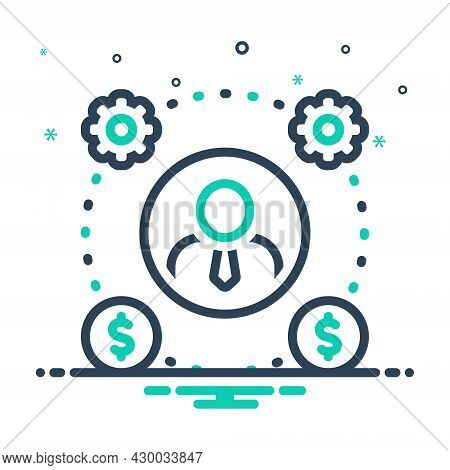 Mix Icon For Scheme Plan Scheme  Program Presentation Tactics