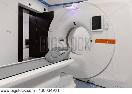 Magnetic Resonance Imaging Mri At Hospital/ Healthy Industry