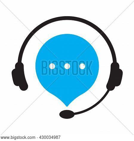 Hotline Customer Support Service Telemarketing, Secretary, Consultant, Consultation Concept For Grap