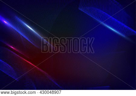 Abstract Modern Shiny Lines Background For Your Design - Vector Illustration