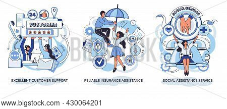 Reliable Insurance Assistance. Social Assistance Service. Excellent Customer Support Call Center. Pe