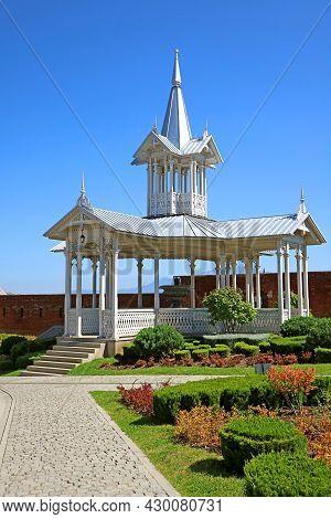 Gorgeous Pavilion In The Courtyard Of Akhaltsikhe Fortress, Samtskhe-javakheti Region, Historic Plac